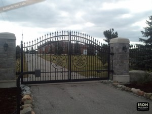 Iron gate design